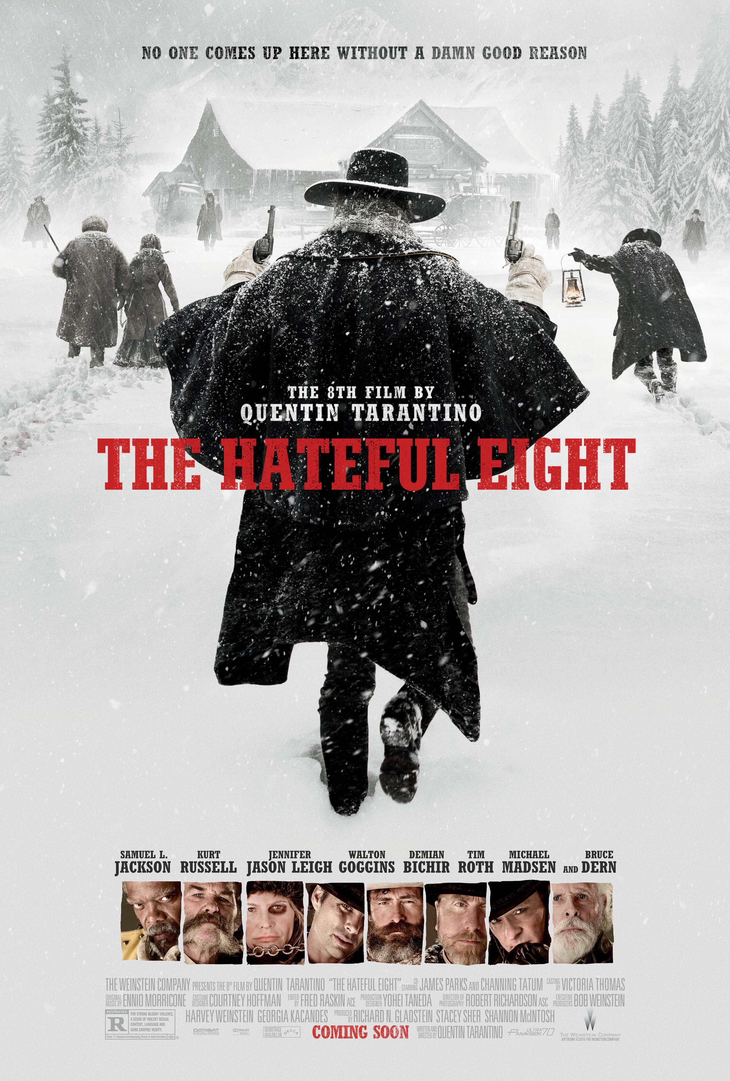 the hateful eight poster The 27 Best Film Ensembles: From Boogie Nights to Spring Breakers