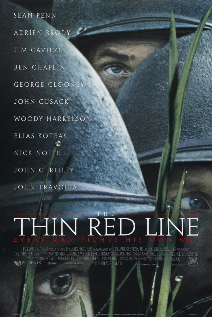 the thin red line movie poster The 27 Best Film Ensembles: From Boogie Nights to Spring Breakers