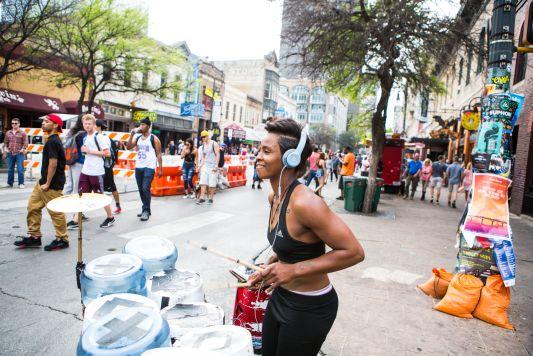 SXSW // Photo by Philip Cosores