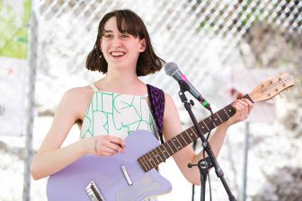 Frankie Cosmos // Photo by Heather Kaplan