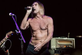 Iggy Pop // Photo by Philip Cosores