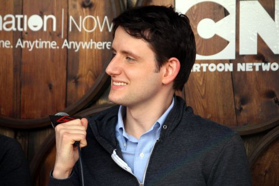 Zach Woods // Photo by Heather Kaplan