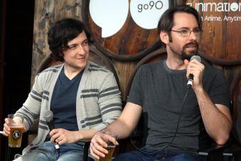 Josh Brener and Martin Starr // Photo by Heather Kaplan