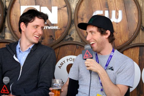 Zach Woods and Thomas Middleditch // Photo by Heather Kaplan