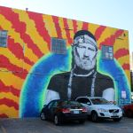Willie Nelson Mural, Photo by Heather Kaplan