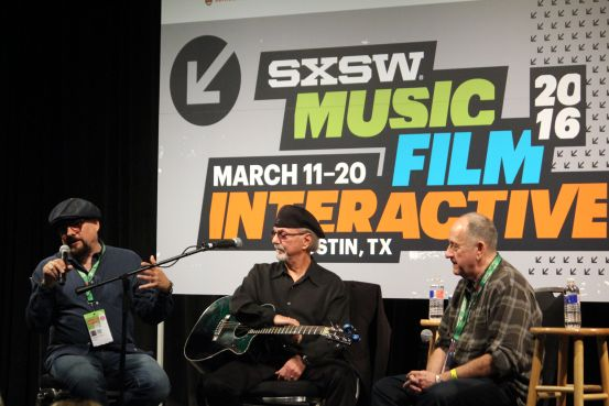 Jimmy Vivino, Dion, and Richard Gottehrer // Photo by Heather Kaplan