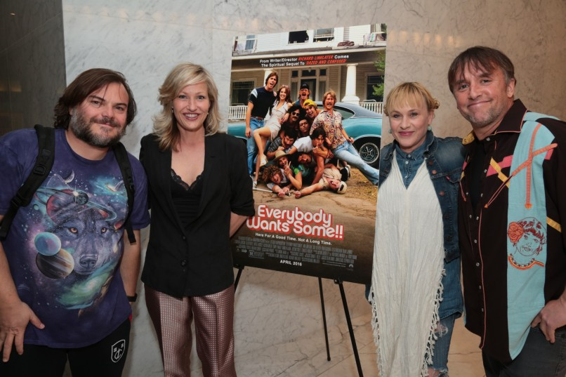 Jack Black, Joey Lauren Adams, Patricia Arquette, Richard Linklater