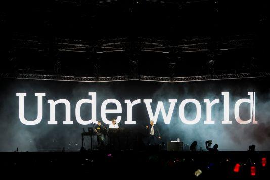 Underworld // Photo by Philip Cosores