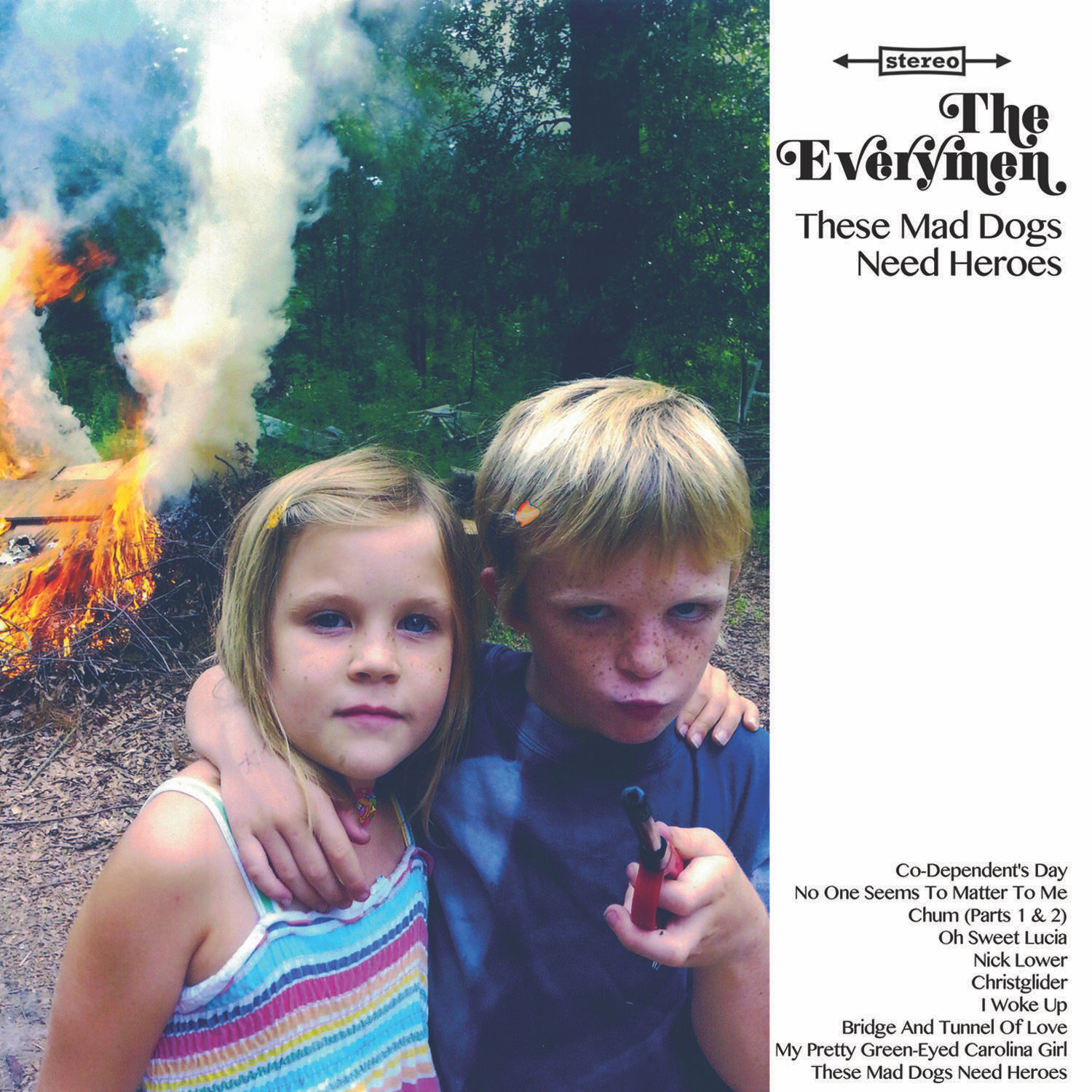 everymen mad dogs need heroes album The Everymen announce new album, premiere Co Dependents Day    listen