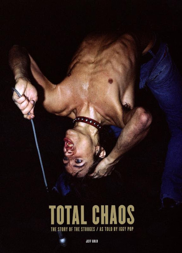 totalchaosastoldbyiggystooges Jack White to release new biography on The Stooges as told by Iggy Pop