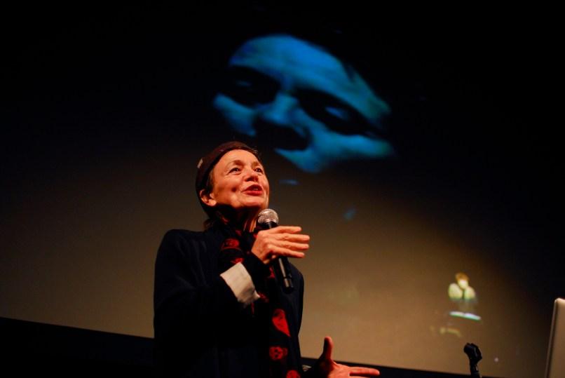 Laurie Anderson Talk 1 - Moogfest 16 - Cap Blackard