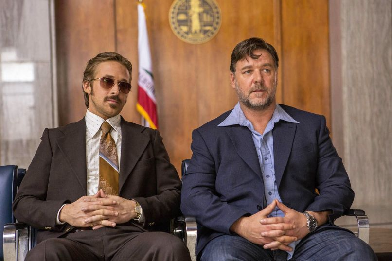 Ryan Gosling, Russell Crowe, The Nice Guys