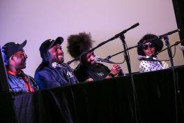 Afrofuturism Panel // Photo by Nina Corcoran