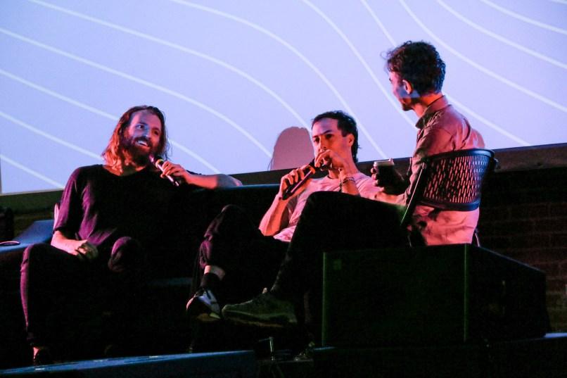 Nina Corcoran, Tim Hecker and Ben Frost 02