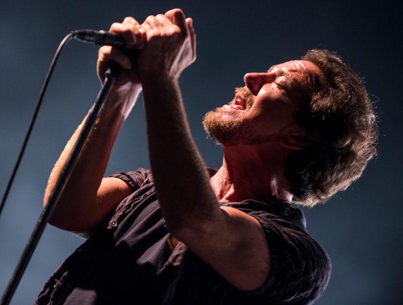 Pearl Jam, photo by David Brendan Hall