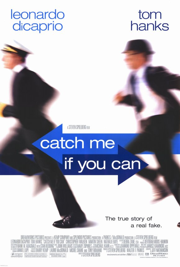 catch me if you can movie poster Ranking: Every Steven Spielberg Movie from Worst to Best