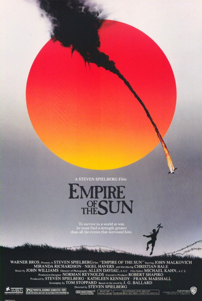 empire of the sun poster Ranking: Every Steven Spielberg Movie from Worst to Best