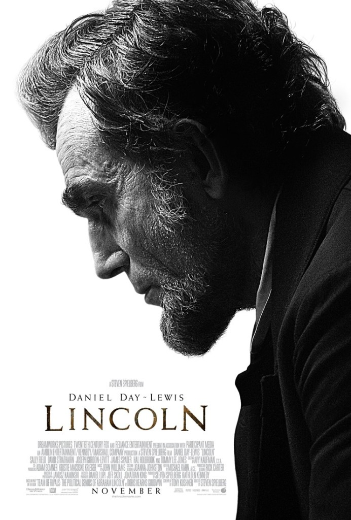 lincoln poster Ranking: Every Steven Spielberg Movie from Worst to Best