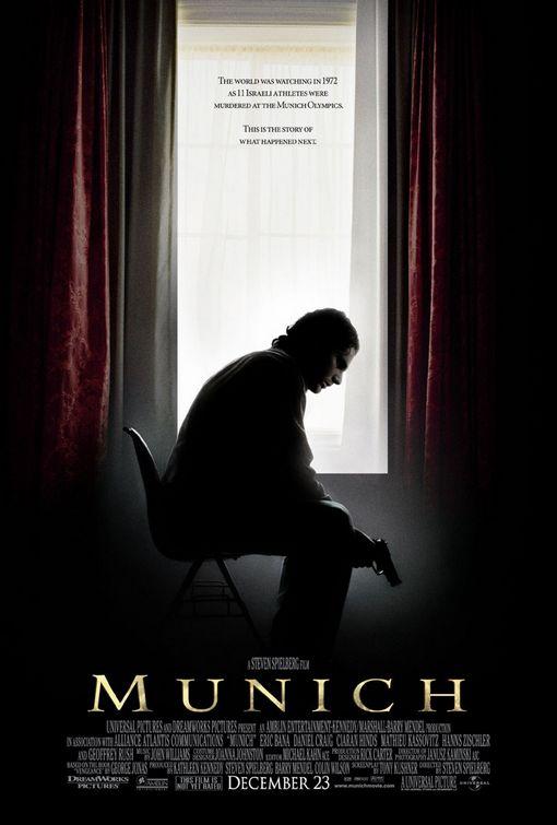 munich poster Ranking: Every Steven Spielberg Movie from Worst to Best