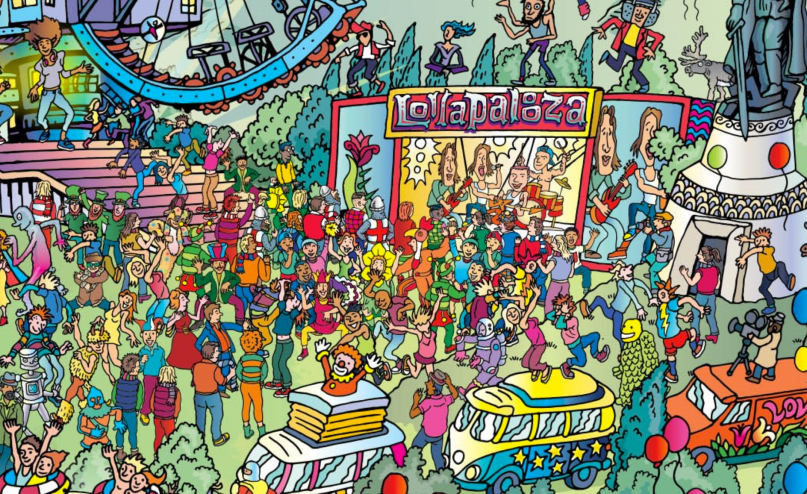 Lolla Where's Waldo