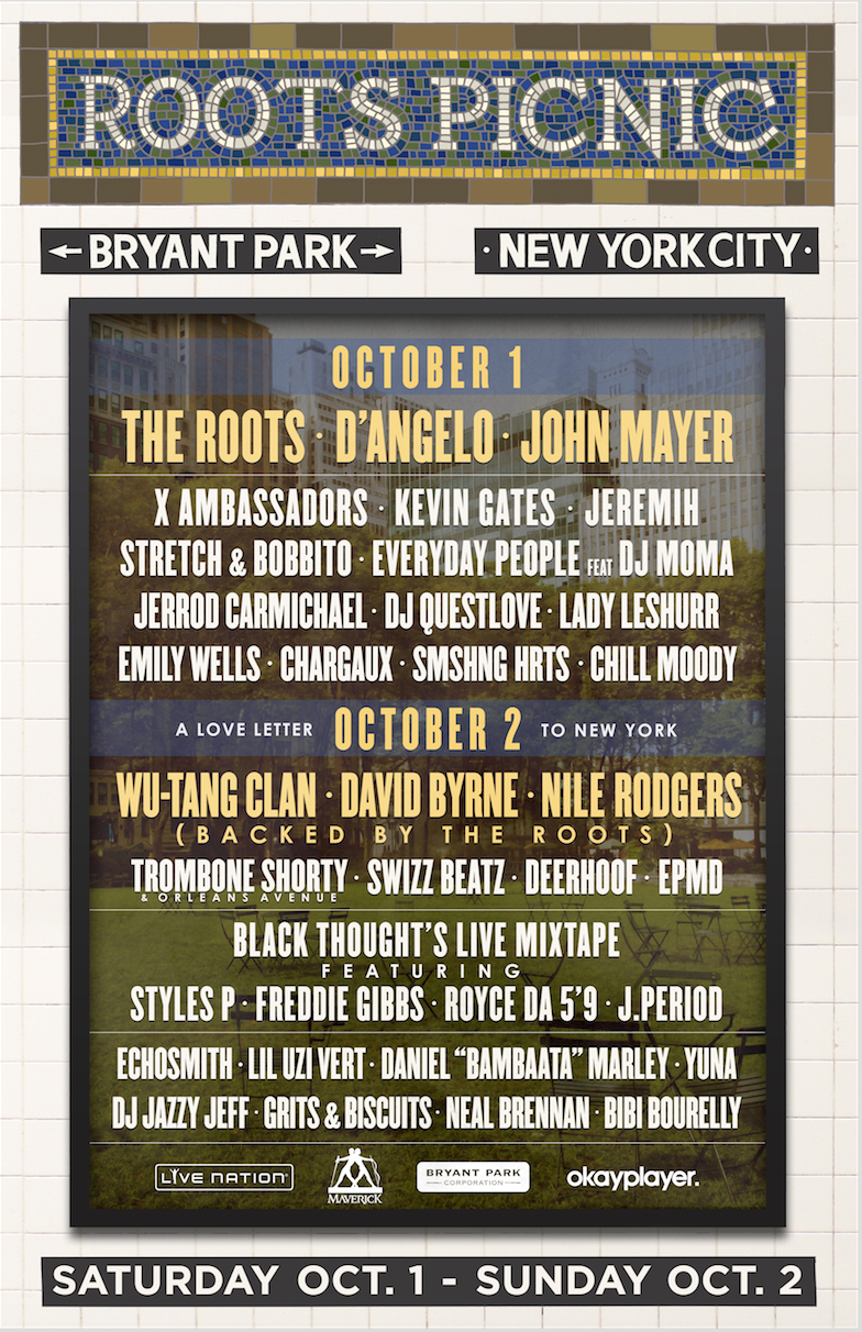 unnamed Roots Picnic expands to New York City with two day festival