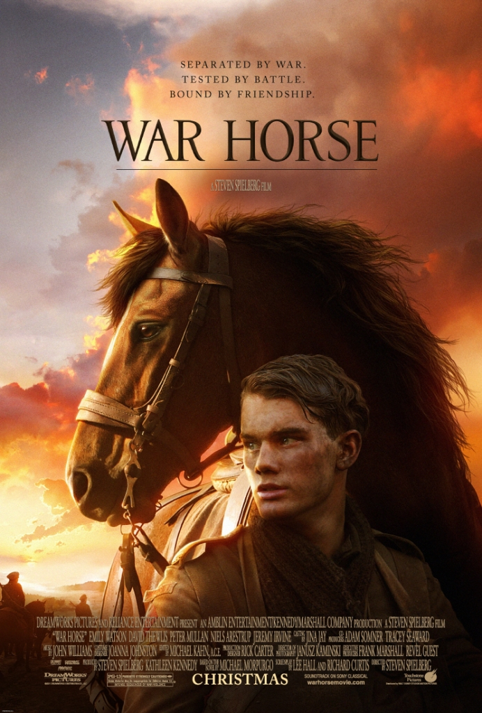 war horse poster Ranking: Every Steven Spielberg Movie from Worst to Best