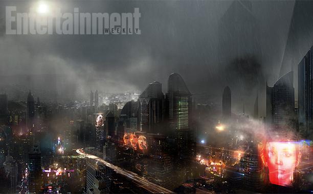 blade runner storyboard Blade Runner 2 storyboards reveal toxic Los Angeles wasteland