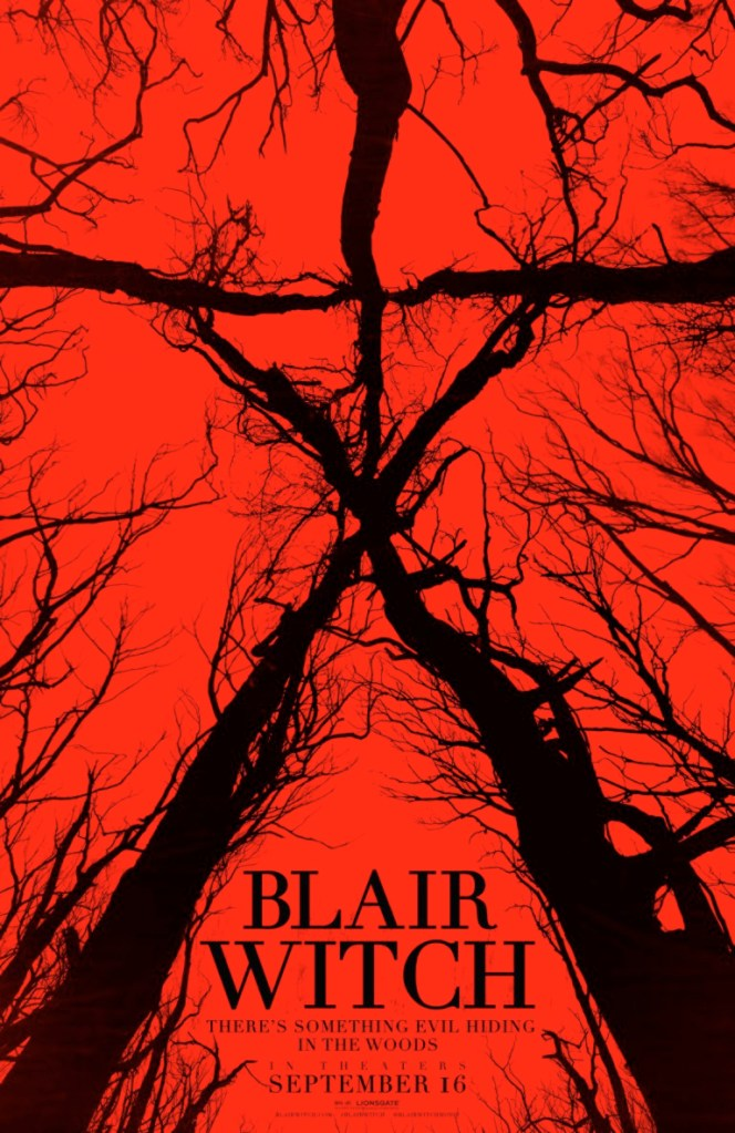 blair witch poster Adam Wingards The Woods is actually a sequel to The Blair Witch Project