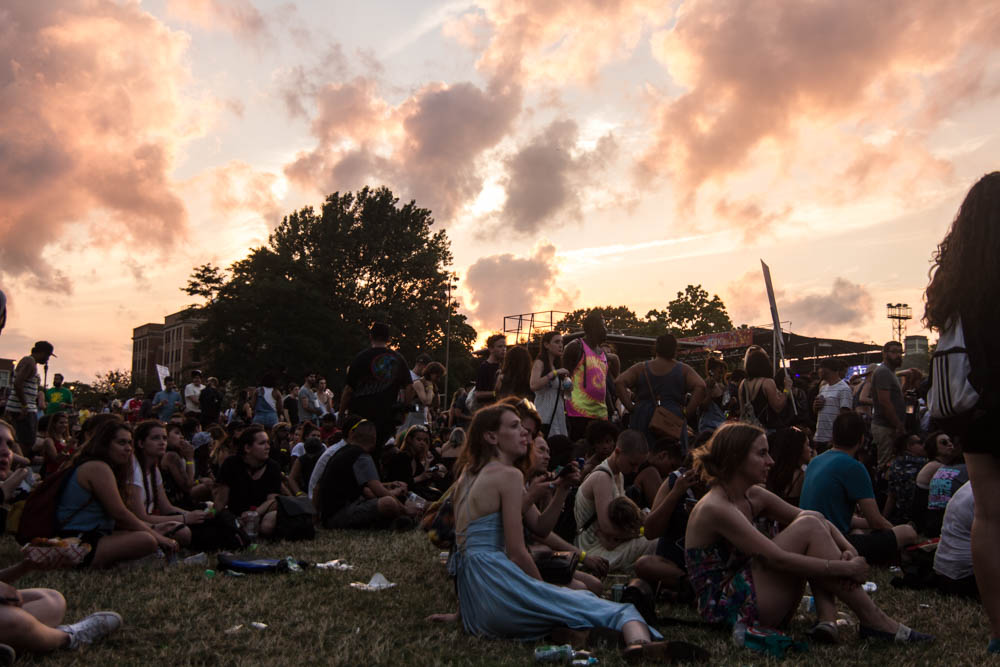 Crowd // Photo by Kris Fuentes Cortes