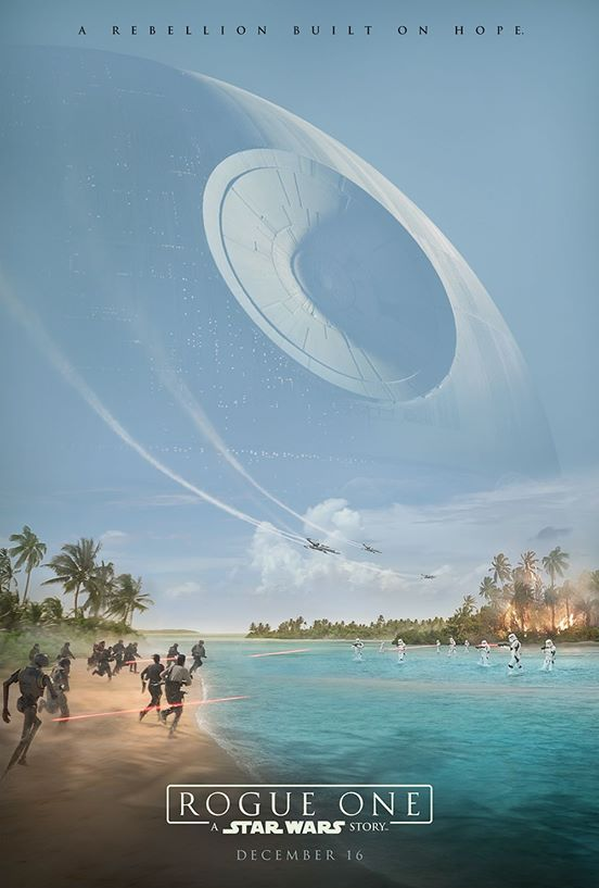 rogue one poster Stunning Rogue One behind the scenes footage shown at Star Wars Celebration — watch