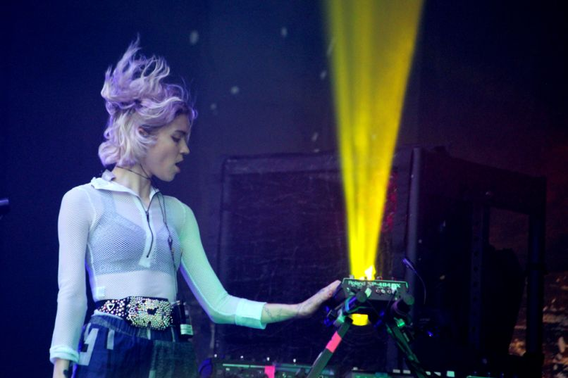 grimes lolla saturday kaplan 8 How Many Songs Off New Albums Should Bands Play?