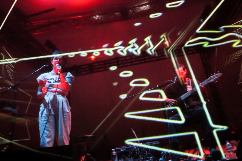 nina corcoran buke and gase 01 Eaux Claires 2016 Festival Review: The 10 Best Performances