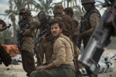 Cassion Andor (Diego Luna) in the aftermath of a battle