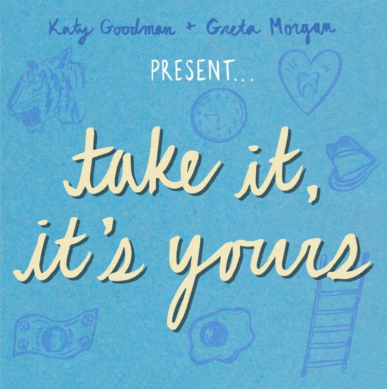 unnamed 211 Stream: Katy Goodman and Greta Morgans punk covers album Take It, Its Yours