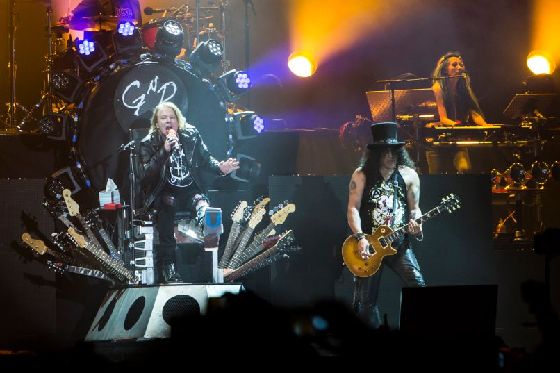01 guns n roses cosores Reunion of the Year: Guns N Roses