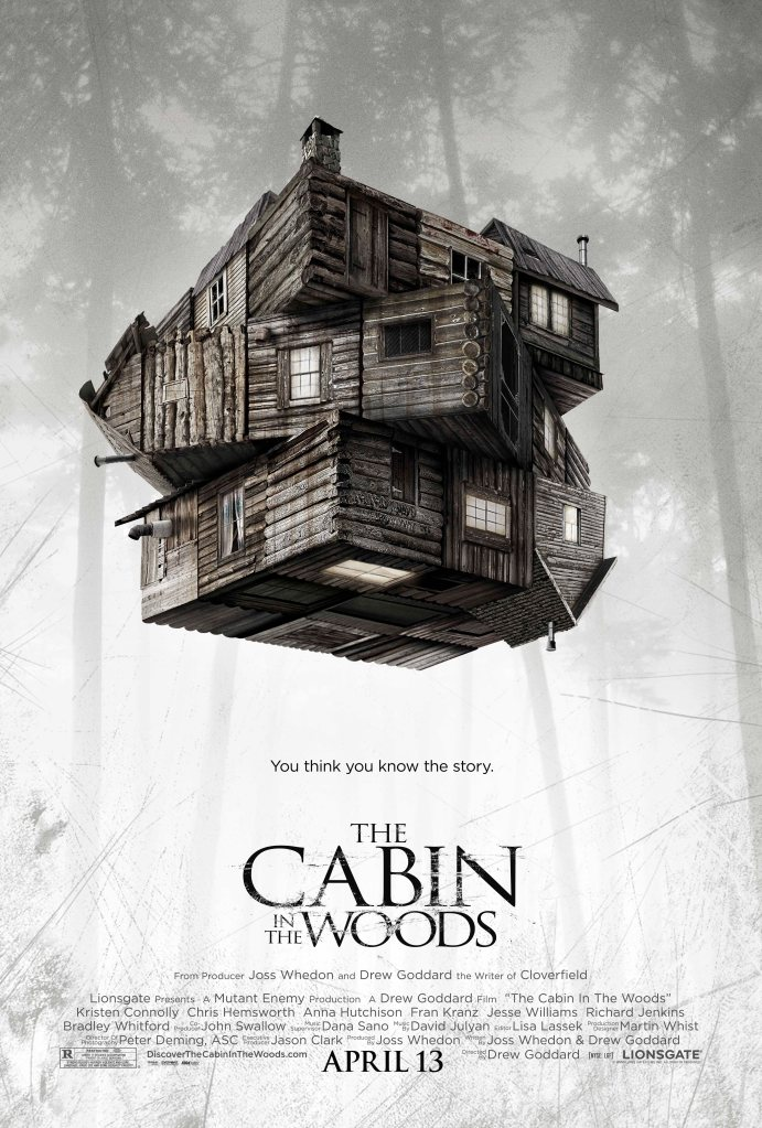 cabin in the woods poster In 2012, The Cabin in the Woods Brought the Gods Back to Horror