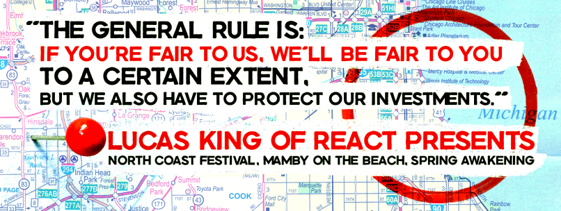 chicago quote Music Festivals and the Pursuit of Exclusivity