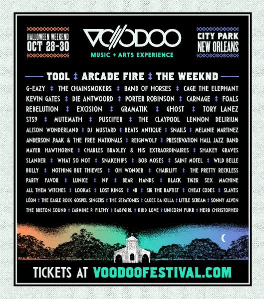 unnamed1 Win tickets to Voodoo Music Experience 2016