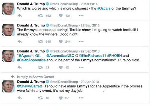 emmys trump The Emmys fact checked whiny Donald Trump