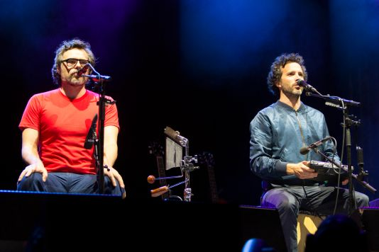 Flight of the Conchords // Photo by Philip Cosores
