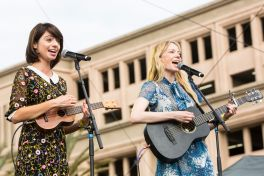 Garfunkel and Oates // Photo by Philip Cosores