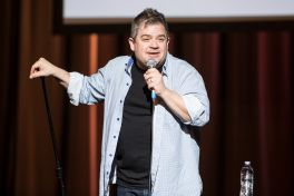 Patton Oswalt // Photo by Philip Cosores