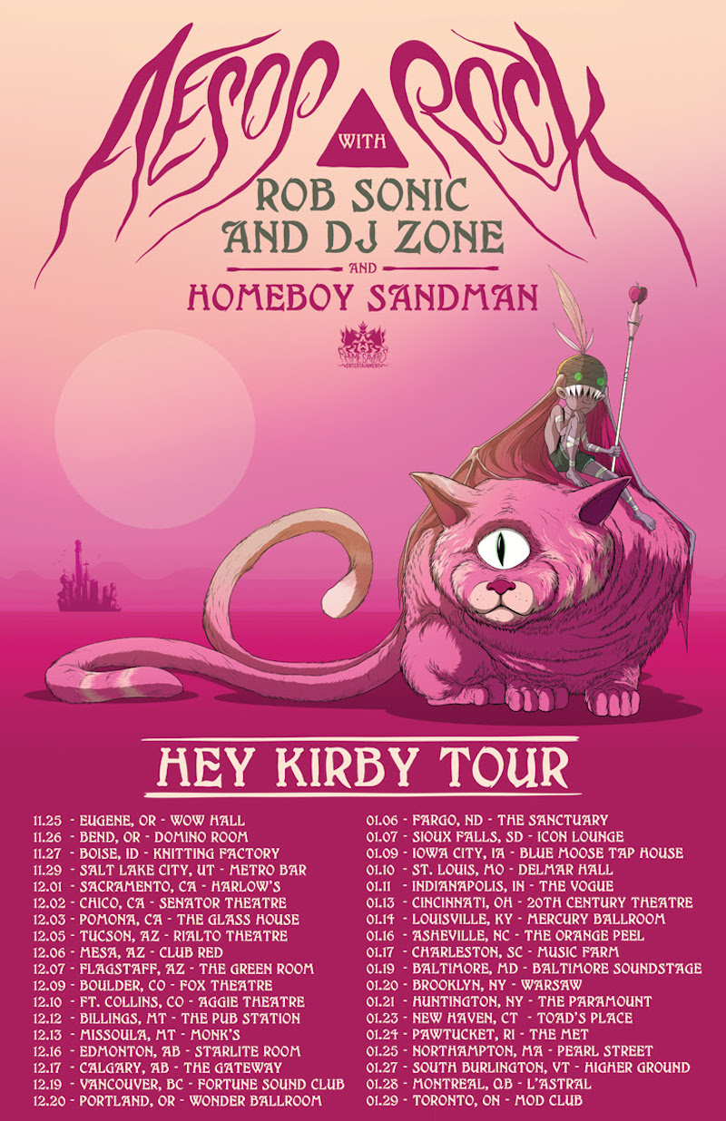 unnamed 21 Aesop Rock announces North American tour