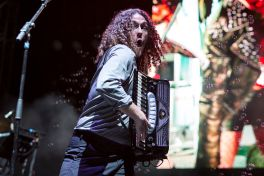 """Weird Al"" Yankovic // Photo by Philip Cosores"