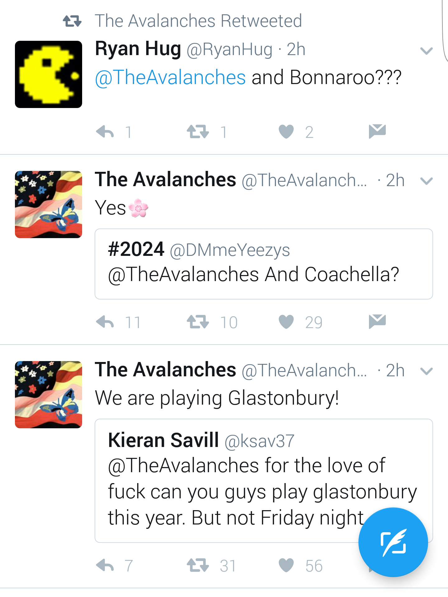 avalanches 2017 The Avalanches confirm 2017 festival appearances at Coachella and Glastonbury