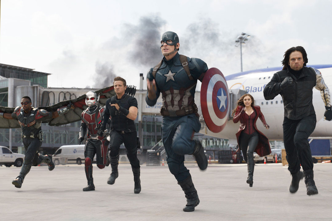 captain america civil war trailer full pic Who Won? Ranking the Comic Book Movies of 2016