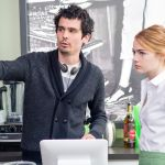 Damien Chazelle and Emma Stone