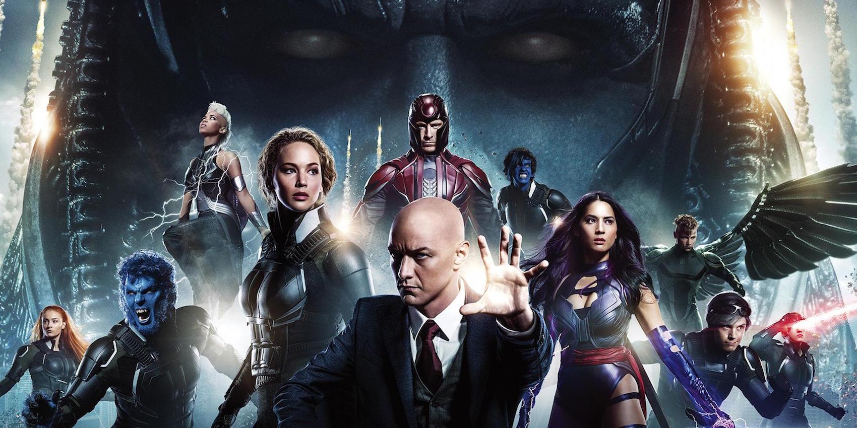 x men apocalypse movie cast 2016 Who Won? Ranking the Comic Book Movies of 2016