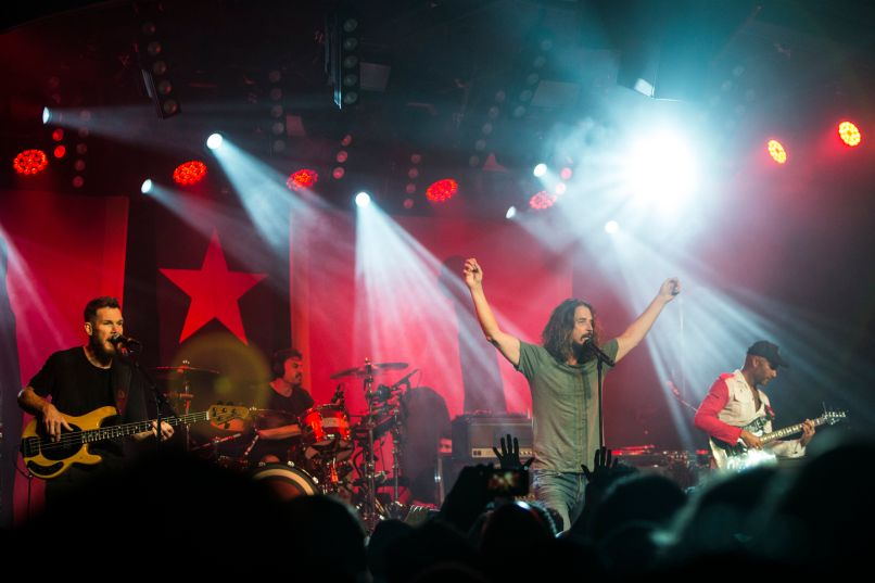 audioslave 01 Live Review: Audioslave reunites at Prophet of Rages Anti Inaugural Ball (1/20)