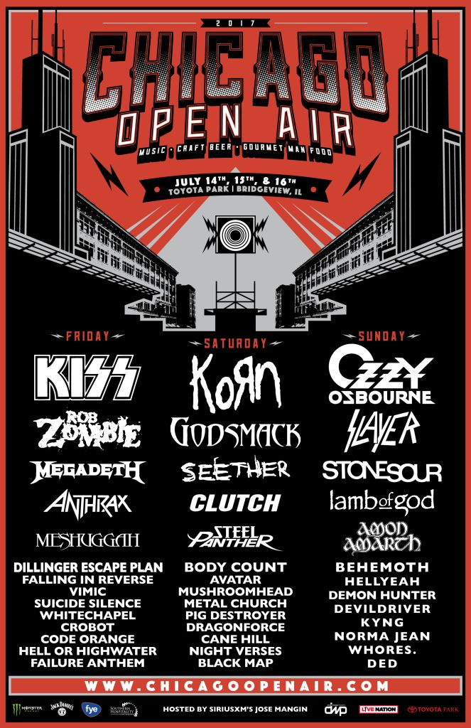 chicago open air 2017 Chicago Open Air reveals extra heavy 2017 lineup